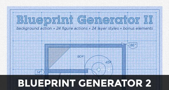 Blueprint Generator: Action + Layer Styles + Pat - 4